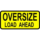 Caution Oversized Load Ahead