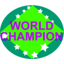 download Brazil World Champion clipart image with 45 hue color