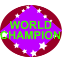 download Brazil World Champion clipart image with 225 hue color