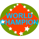 download Brazil World Champion clipart image with 315 hue color