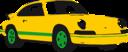 Sport Car Yellow