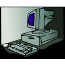 download 90s Pc clipart image with 135 hue color