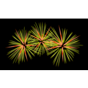 download Fireworks clipart image with 315 hue color