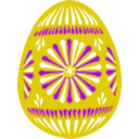 download Easter Egg Blue clipart image with 225 hue color