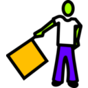 download A Semaphore clipart image with 45 hue color