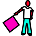 download A Semaphore clipart image with 315 hue color