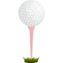 download Golf clipart image with 315 hue color