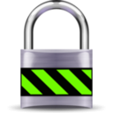download Secure Padlock Silver Medium clipart image with 45 hue color