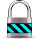 download Secure Padlock Silver Medium clipart image with 135 hue color