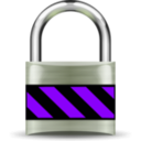 download Secure Padlock Silver Medium clipart image with 225 hue color