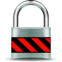download Secure Padlock Silver Medium clipart image with 315 hue color