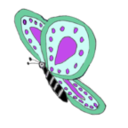download Pink Purple Butterfly clipart image with 225 hue color