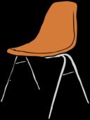 Modern Chair 3 4 Angle