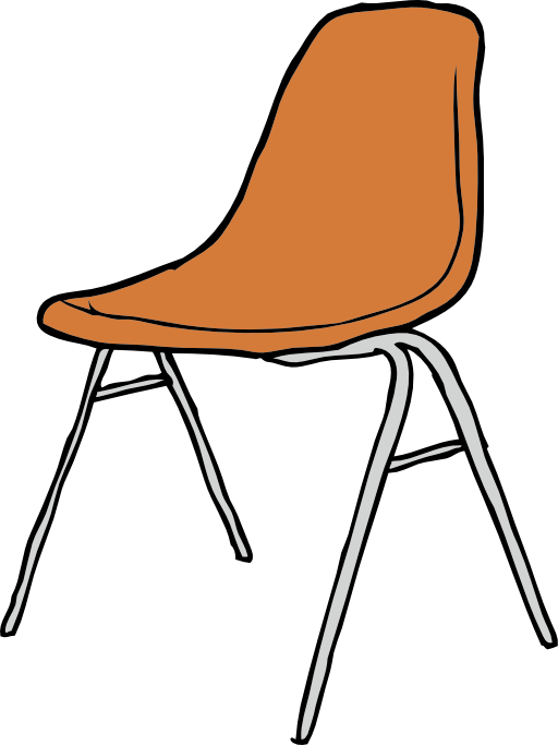 Round Table And Chairs Clip Art - Royalty Free - GoGraph