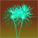 download Firework clipart image with 135 hue color