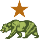 download California Star And Bear Clipart clipart image with 45 hue color