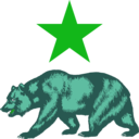 download California Star And Bear Clipart clipart image with 135 hue color