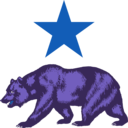 download California Star And Bear Clipart clipart image with 225 hue color
