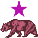 download California Star And Bear Clipart clipart image with 315 hue color