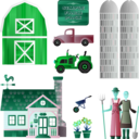 download Simple Farm Pack clipart image with 135 hue color