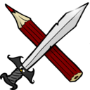 Sword And Pencil
