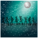 download Disco Dancers Remix 2 clipart image with 315 hue color
