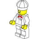 Lego Town Chef