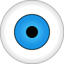 download Olho Azul Blue Eye clipart image with 0 hue color