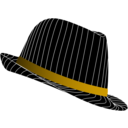 download Fedora Hat clipart image with 45 hue color