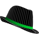 download Fedora Hat clipart image with 135 hue color