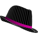 download Fedora Hat clipart image with 315 hue color