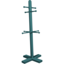 download Coat Stand clipart image with 135 hue color