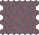 Isometric Weave Embroidered