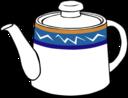 Fast Food Drinks Tea Pot