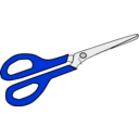 download Scissors clipart image with 225 hue color