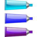 Color Tube Blue Purple Cyan