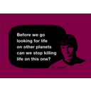 download Spock No Killing clipart image with 135 hue color