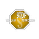 download Stop The Law Terrorism clipart image with 45 hue color