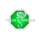 download Stop The Law Terrorism clipart image with 135 hue color