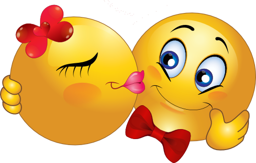 kissing smiley