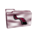 download Folder Icon Plastic Videos clipart image with 315 hue color