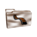 Folder Icon Plastic Videos