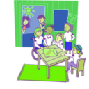 download Clubhouse clipart image with 45 hue color
