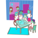 download Clubhouse clipart image with 135 hue color