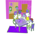 download Clubhouse clipart image with 225 hue color
