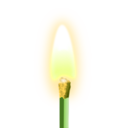 download Match Burning clipart image with 45 hue color