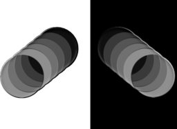Cylinder Cell Shaded Styling
