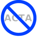 download Stop Acta clipart image with 225 hue color