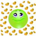download Lover Boy Smiley Emoticon clipart image with 45 hue color