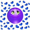 download Lover Boy Smiley Emoticon clipart image with 225 hue color